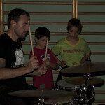Rock para niños batería