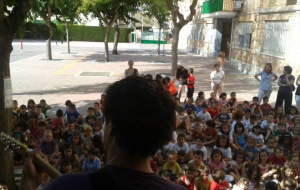 Sesiones rock para niños en colegios y escuelas infantiles